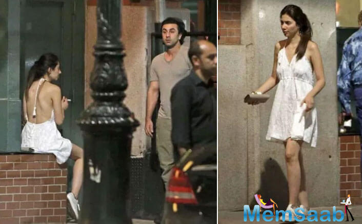 Ranbir Kapoor has been shooting for his upcoming Sanjay Dutt biopic in New York.
