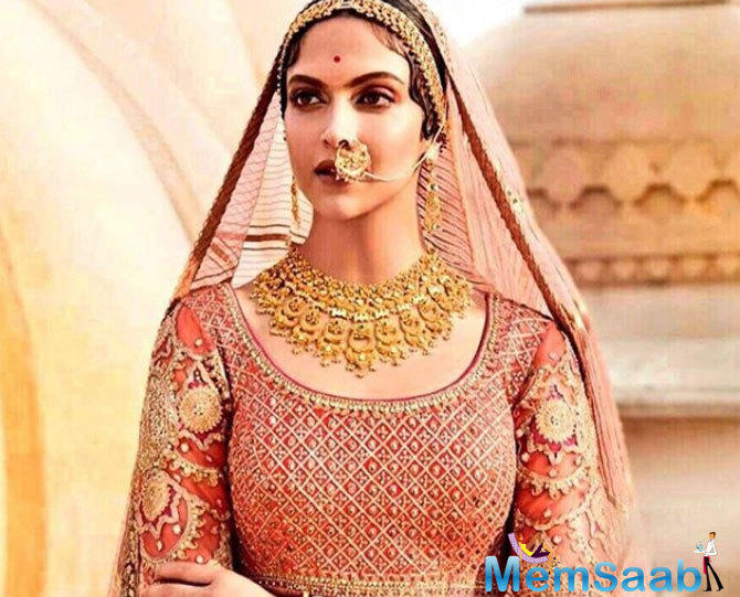 The jewellery brand is partnered with the film 'Padmavati' and ahead of the film's release, pictures of Deepika shooting for this ad have gone viral.