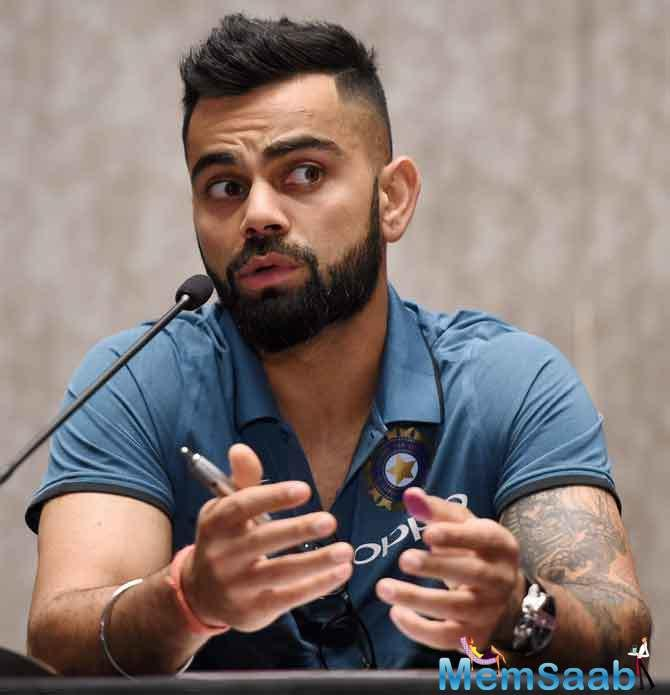 Kohli's side have been on a roll for the past year since regaining the number one Test spot with a 3-0 home whitewash of New Zealand.