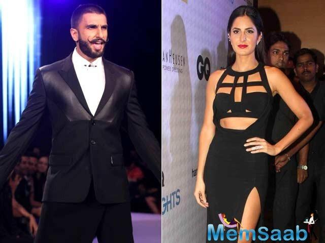Buzz is actress Katrina Kaif is quite keen on getting cast alongside Ranveer Singh in this sport based film.