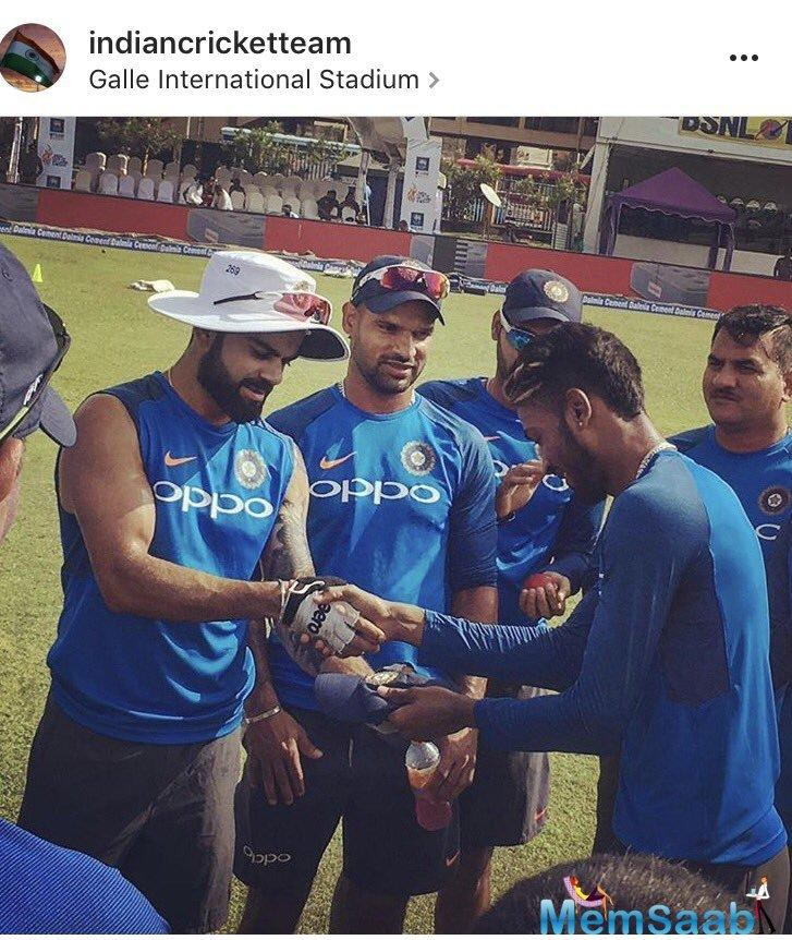 Hardik Pandya is in seventh heaven. The Team India all-rounder has been a revelation for Virat Kohli's side with both bat and ball during India's tour of Sri Lanka and the current Australia series.