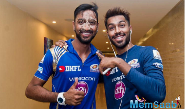The sensational all-rounder earned plaudits from all corners and among them was his own brother, Krunal Pandya.