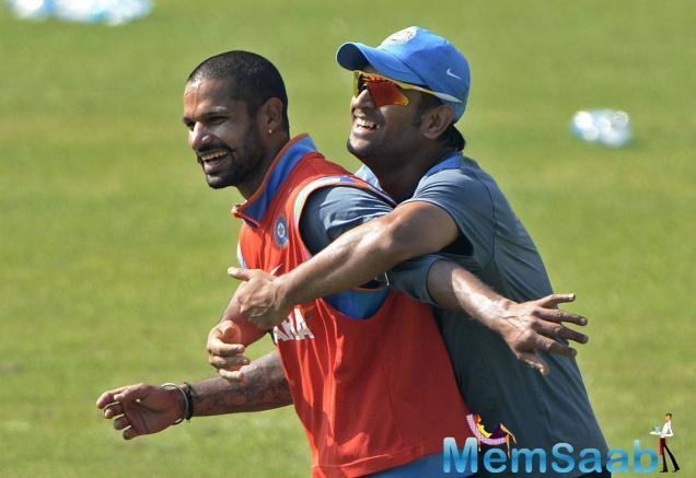 During an interaction with NDTV recently, India opener Shikhar Dhawan revealed one of Mahendra Singh Dhoni's one-liners.