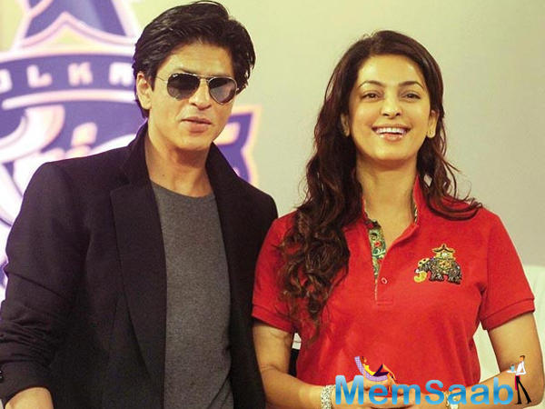 Juhi has been roped in for a cameo in the SRK-starrer.