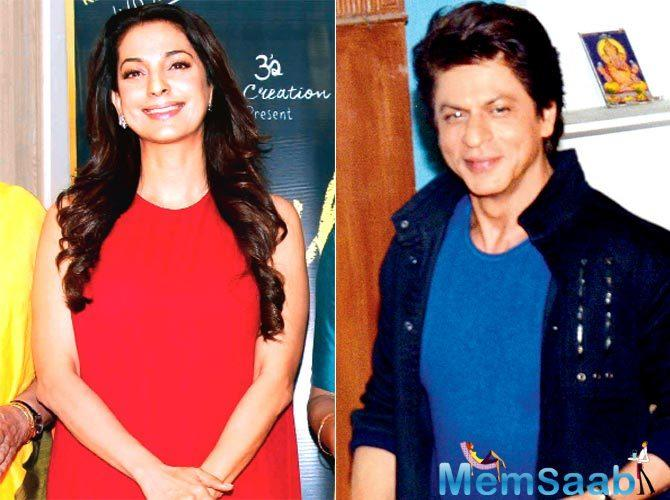 Shah Rukh Khan and Juhi Chawla go back a long way. They have featured in several films like Raju Ban Gaya Gentleman (1992), Darr (1993) and Duplicate (1998), Yes Boss and  Phir Bhi Dil Hai Hindustani.