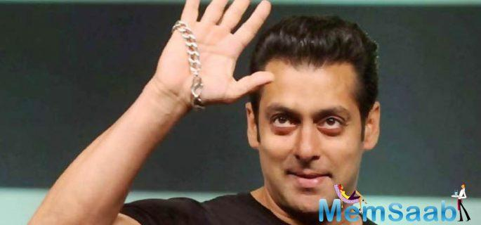 Salman will be joined by a host of stars such as Sonakshi Sinha, Prabhudheva, Meet Bros, Daisy Shah, Kriti Sanon and Maniesh Paul for the tour.
