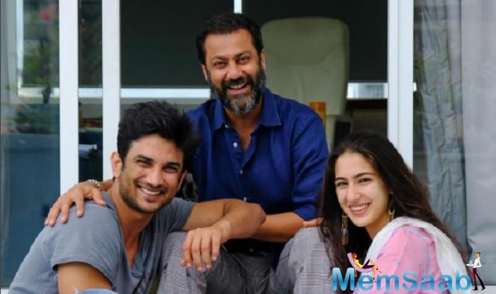 Sushant Singh Rajput and Sara Ali Khan, who are working together in Abhishek Kapoor's Kedarnath have finished the first extensive schedule at the holy city in Uttarakhand.