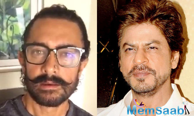 Aamir said that while both of them are curious as personalities, he opts to take heed to what Shah Rukh says.