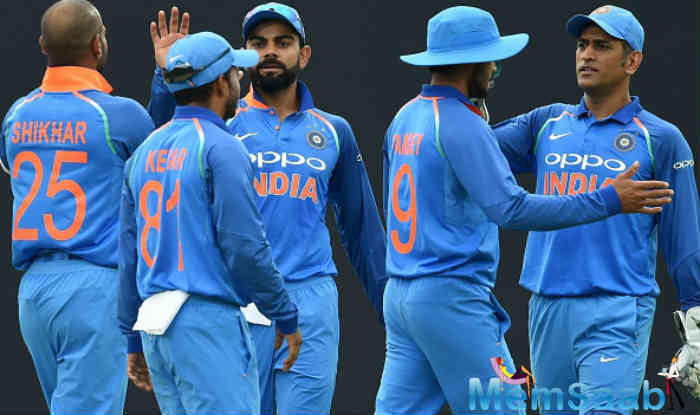 The Indian cricket team could not practice on the eve of the match on Monday due to rain and wet outfield at the ACA-Barsapara Cricket Stadium.