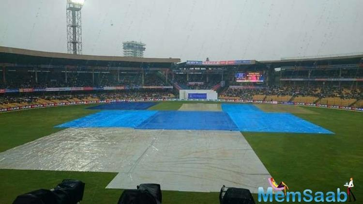 When, the weather may play spoilsport like it did during the first Twenty20 of the series in MS Dhoni's hometown, Ranchi, on last Saturday.