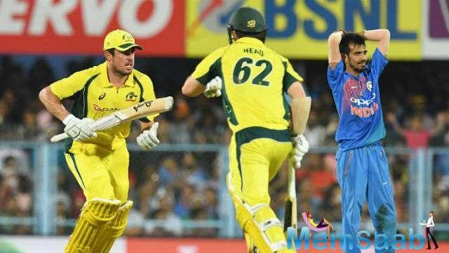 Jason Behrendorff and Moises Henriques helped Australia earn an emphatic win over India to level the series 1-1.