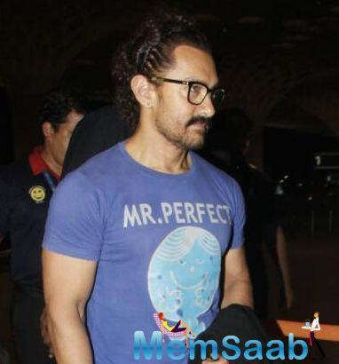 Aamir said as far as he is concerned, he does not charge an advance fee for his movies. The actor said he takes a percentage of the profit.