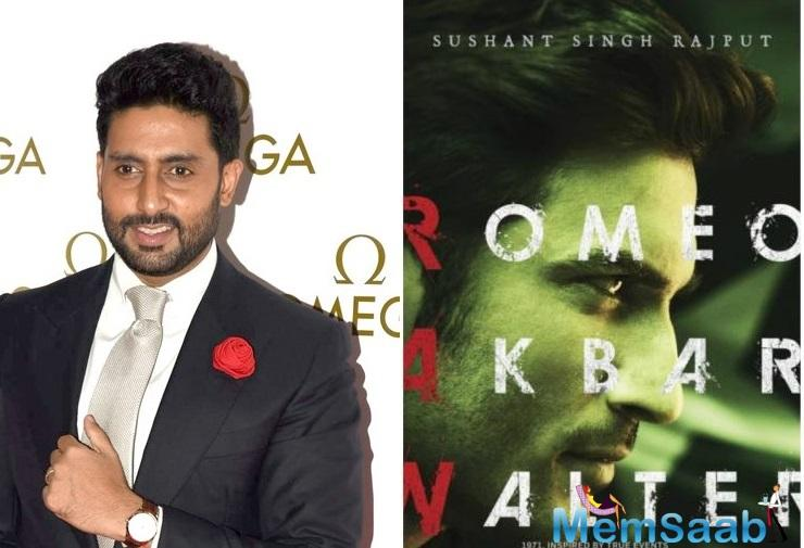 The film is based on true events. The director and producers feel Abhishek is perfect for the slick action-thriller.