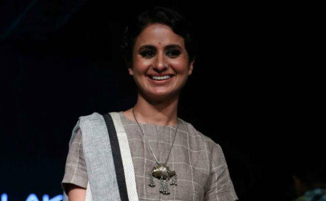 Actress Rasika Dugal, 32, who features as Safia Manto in Manto, has taken on another challenging role in a movie titled Hamid.
