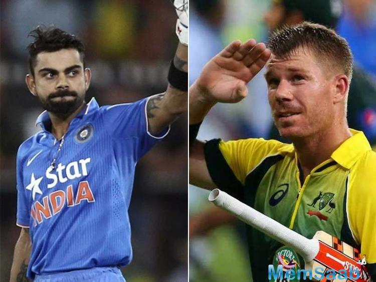 The third T20 between Virat Kohli's India and David Warner-led Australia