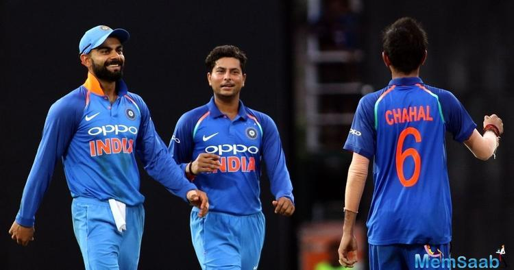 Asked whether he was surprised to see the exclusion of established duo from the Indian team, the Kiwi captain said,
