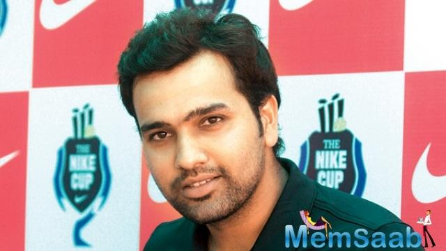 Rohit said he never had big dreams as a child.