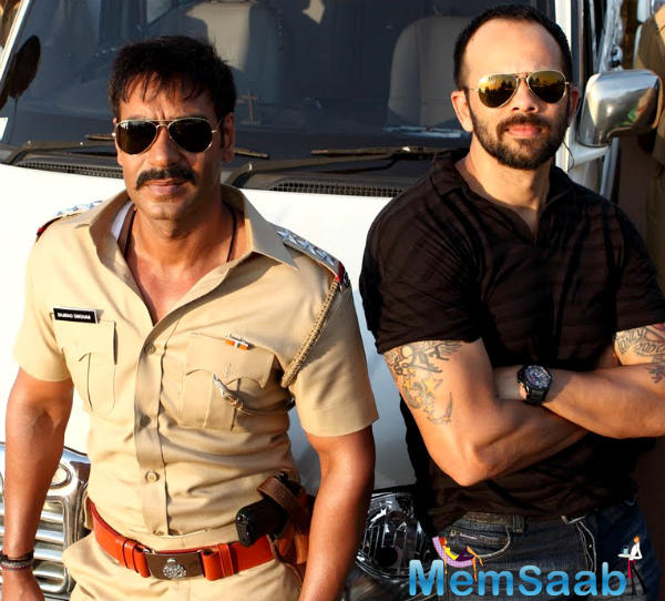 But then the script of Singham 3 isn't ready, and Ajay is quite keen on operating on the franchise, given how it's one of his big-ticket movies.