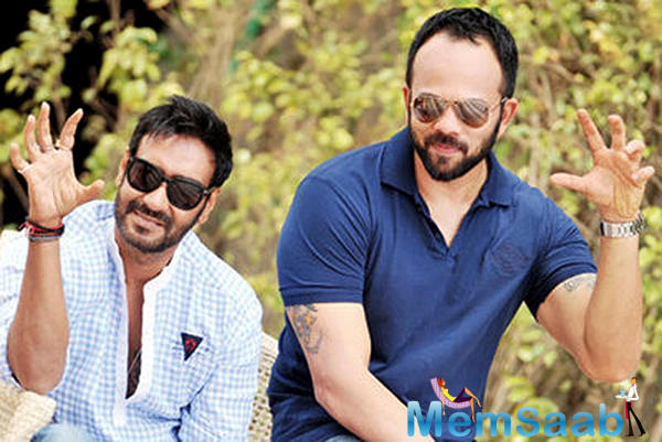 While Rohit Shetty has just wrapped up a Golmaal movie with Ajay Devgn, he's unable to commit to the next Singham franchise.