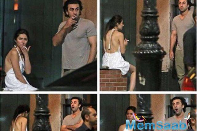 According to a report,  Ranbir Kapoor had given a statement on the whole controversy. Ranbir decided to talk about it because Mahira was criticised online for wearing a backless dress and smoking.