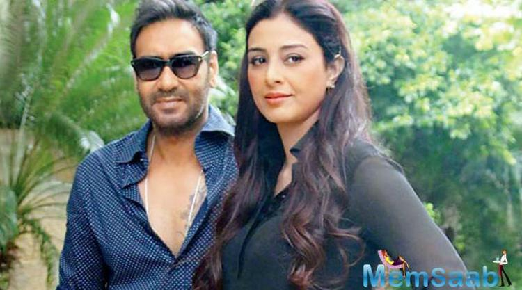 Actor Tabu says she will not say no to a film with Ajay Devgn as that is the equation she shares with the superstar.
