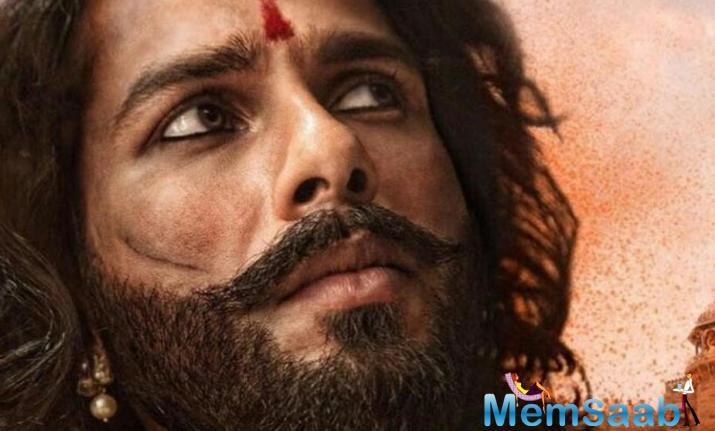 Actor Shahid Kapoor, who plays the character of Raja Rawal Ratan Singh in forthcoming magnum opus Padmavati, says the film celebrates India.
