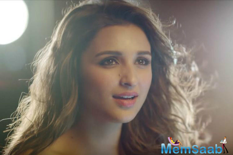 Parineeti recently talked about the person close to her heart ahead of the TV premiere of Hollywood romantic drama film Me Before You on Romedy NOW.