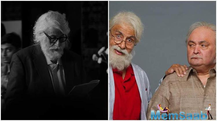 After a long gap Veteran actors Amitabh Bachchan and Rishi Kapoor come together for Umesh Shukla directorial '102 Not Out'.