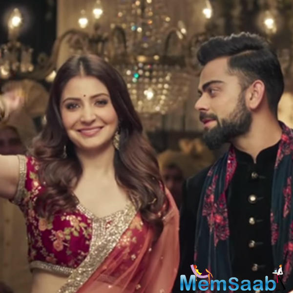 If you remember, it was only during the shoot of an ad, years ago, when Virat and Anushka hit it off.