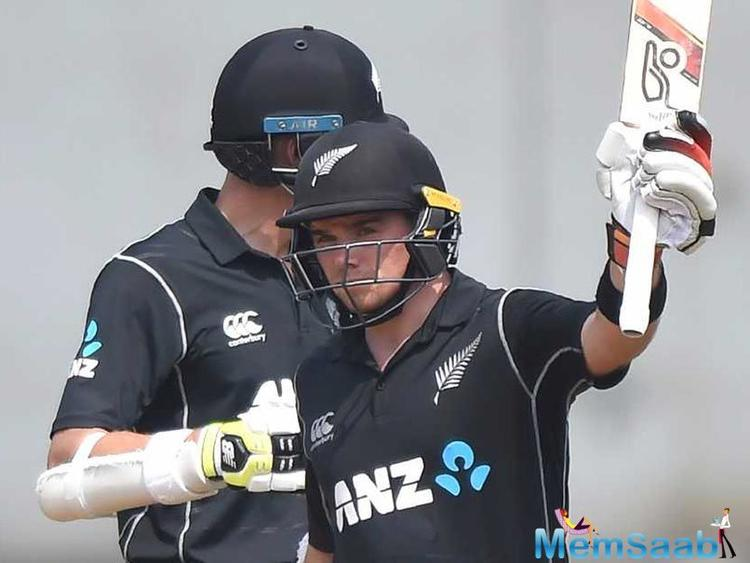 The duo put up a 200-run stand as Latham brought up his 5th ODI ton while Taylor fell 6 runs short of his 18th hundred in the fifty-overs cricket.