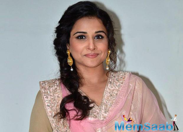 According to reports, after Priyanka Chopra, Vidya Balan has spoken up on the subject.