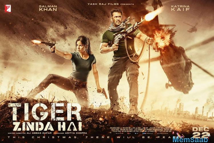 For all those who have been eagerly waiting to see Salman Khan again as a RAW agent, here is out the first look poster of the film.