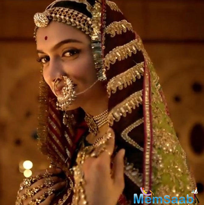 Deepika Padukone is fabulously portraying the character of Padmavati, after watching the trailer no one can deny this.