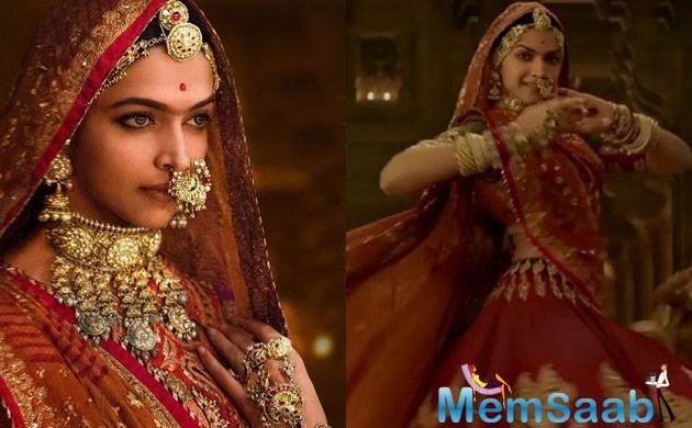 The first 'Padmavati' song 'Ghoomar' got released today and is all about magnificence and opulence.