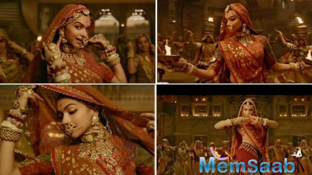 The song was unveiled earlier today and shows the richness of the Rajput culture and traditions.