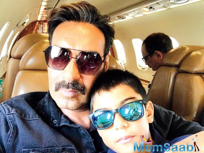 He also said that his kids love to watch the movie and that Yug finds it hilarious while Nysa 14, has become calm and is quiet about such things.
