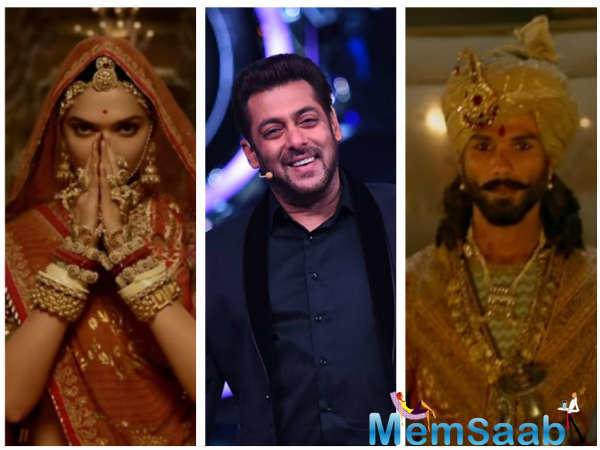 Padmavati is set to release on December 1. The promotion of the film began now.