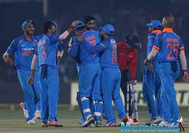 Virat Kohli's Team India continued their domination at home, as they defeated Kiwis by six runs to clinch the three-match ODI series 2-1.