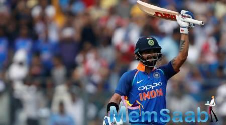 Kohli became the fastest batsman to score 9,000 runs in ODIs during the series-deciding third game against New Zealand in Kanpur on October 29.