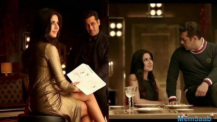 The Salman-Katrina Jodi is really popular among fans and many brands have wanted to sign them on together.