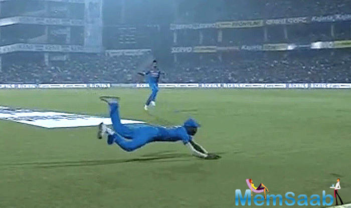 MS Dhoni's spellbound reaction was perhaps how everyone thought about Pandya's stunning effort.