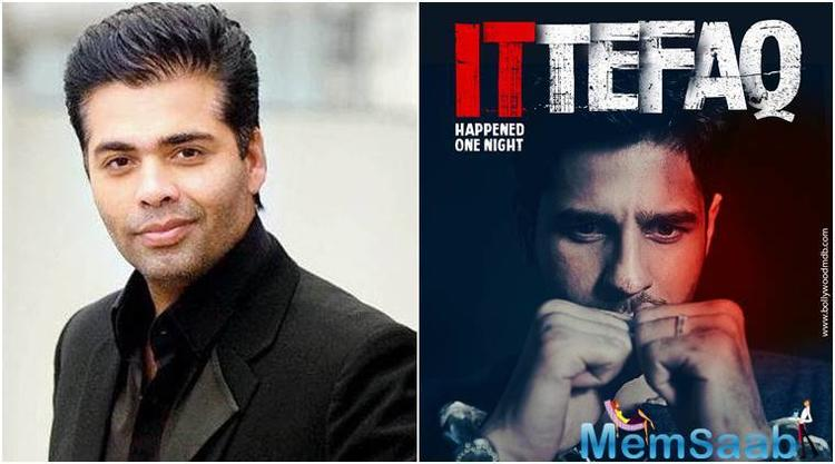 Sidharth Malhotra and team is all set to entice the fans with an upcoming suspense thriller, Ittefaq.