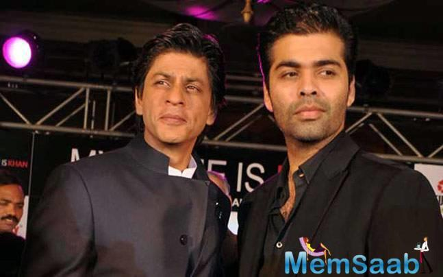 Karan gave away a secret at the promotional event of Ittefaq. Karan spoke about his first ever meeting with SRK.
