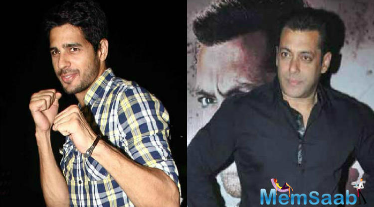 Actor Sidharth Malhotra says he missed out on an opportunity to share screen space with Salman Khan in 'Race 3' due to date issues.