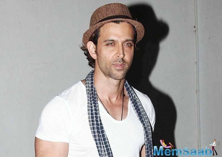 Apart from Hrithik, and the film's lead actors Sumeet Vyas and Kalki Koechlin, celebrities like Jim Sarbh, Pankaj Tripathi and Arslan Goni attended the screening.