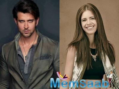 Bollywood star Hrithik Roshan, who has worked with Kalki Koechlin in