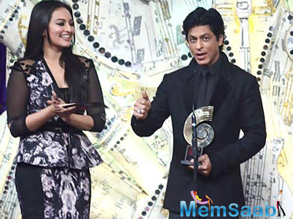 Sonakshi Sinha, who stars in Shah Rukh Khan's production, Ittefaq, says it's her dream to share screen space with the actor.
