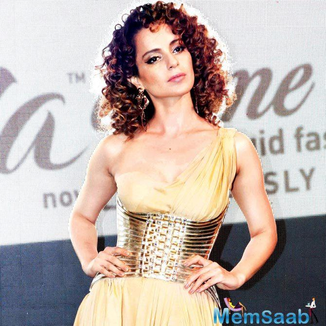 Kangana Ranaut has decided to try and make sure that producer Shailesh Singh, who bankrolled her last release Simran, recovers some of his money.