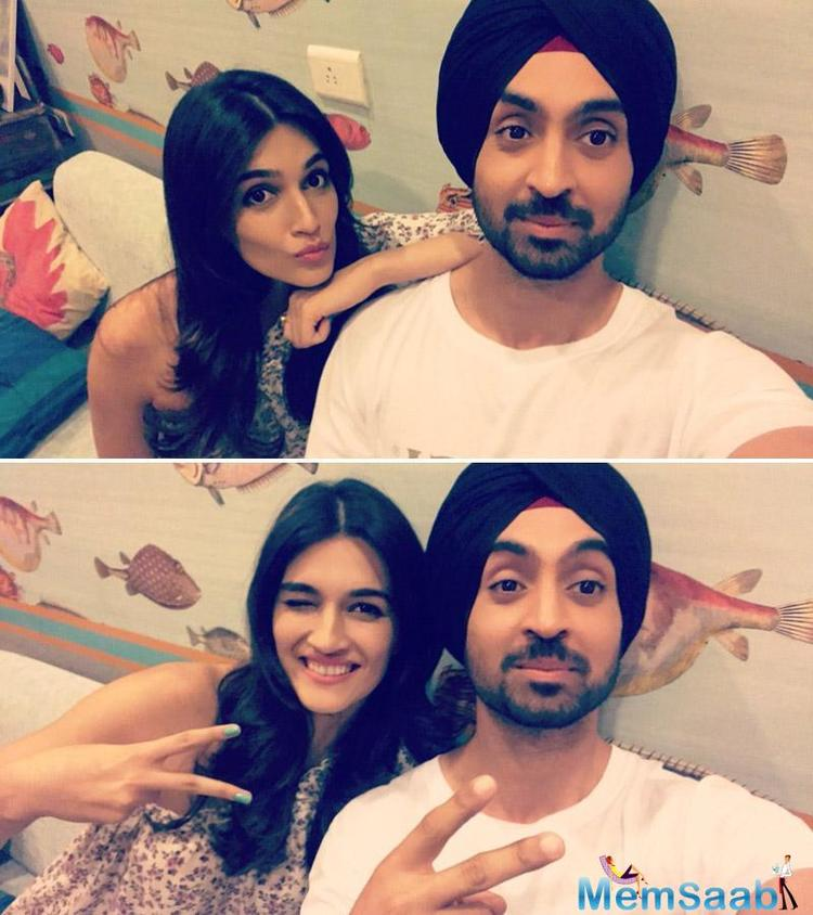 As per the report, While Kriti played a journalist, Diljit in the titular role is a quirky, small town guy.