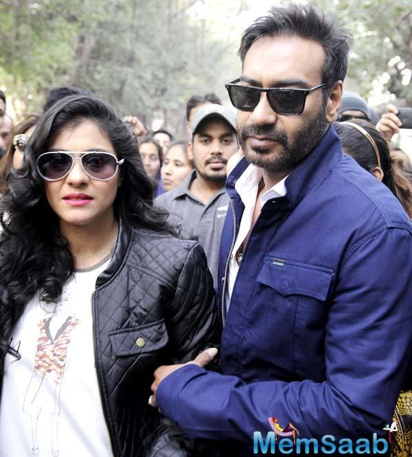 Ajay's next film is the Rajkumar Gupta helmed Raid, which is being filmed in Lucknow.
